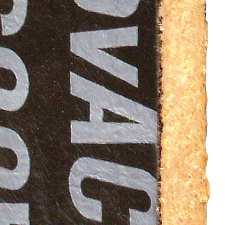 ChovACUSTIC ® 65 LR 70/4 - Painel multicamada composto por painel de lã mineral com 40mm e 70Kg/m^3 sob a lâmina visco-elástica de alta densidade.