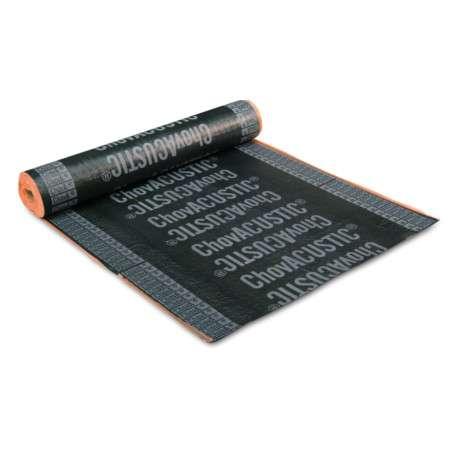 ViscoLAM 35 |65 |100 - Tela acústica asfáltica e viscoelástica de alta densidade e baixa espessura para elevado isolamento acústico. Peso até 10 Kg/m^2.